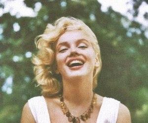 Marilyn Monroe, smile, and vintage image
