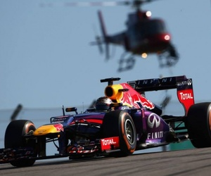 f1, Grand Prix, and helicopter image