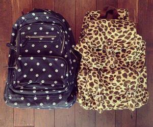 fashion, leopard, and school image
