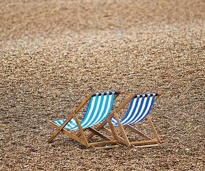 beach, chair, and Great Britain image