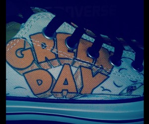 converse, dookie, and billie joe armstrong image