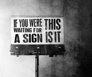 black, sign, and text image