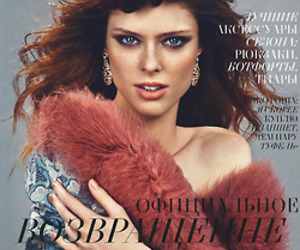 canadian, Coco Rocha, and l'officiel image