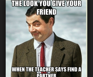 funny, friends, and teacher image
