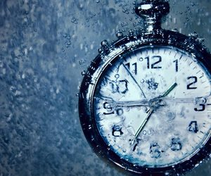 clock, pocket watch, and time image