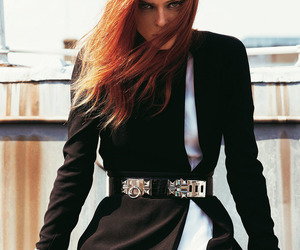 Coco Rocha, editorial, and french madame figaro image