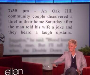 funny, ellen, and joke image