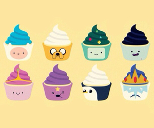 cupcake and adventure time image