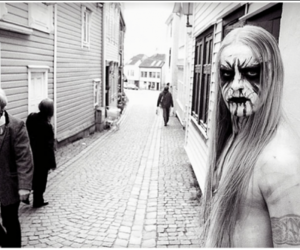 Black Metal, gorgoroth, and black and white image