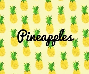 pineapple, quote, and tumblr image