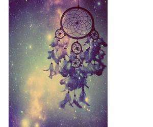 dream catcher, Dream, and galaxy image