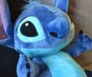disney, soft toy, and stitch image
