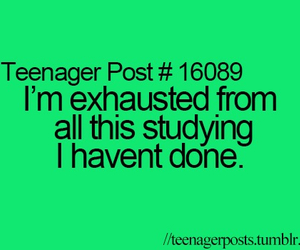study, school, and teenager post image