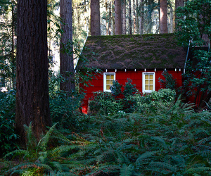 red cottage image