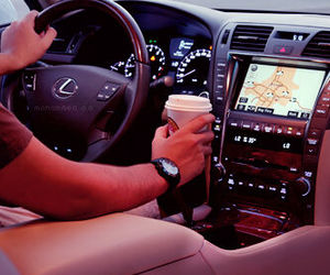 gentle, coffee, and lexus image