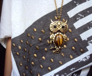 owl, fashion, and necklace image