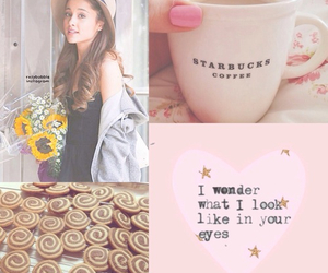 flower, pink, and arianagrande image