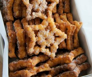 food, star, and sugar image