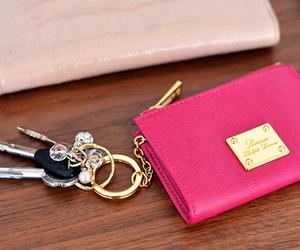 pink, fashion, and keys image