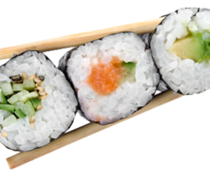 overlay, sushi, and editing image