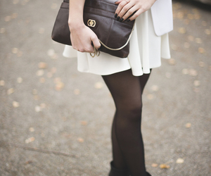 ankle boots, blazer, and clutch image