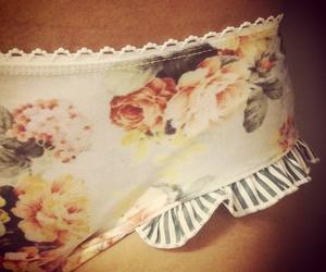 bikini, floral, and bow image