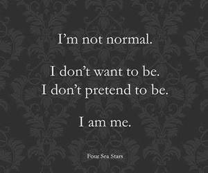 normal, me, and quotes image