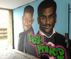 carlton, mural, and will smith image