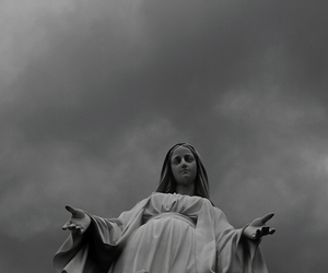 beautiful and holy mary image