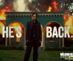the walking dead, twd, and the governor image