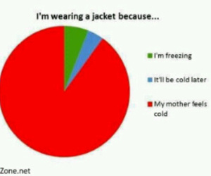 funny, jacket, and lol image