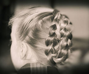 amber, braids, and daughter image