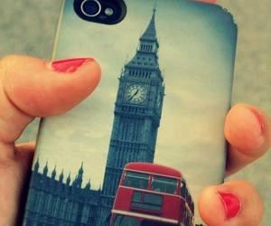 london, Big Ben, and iphone image