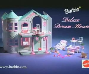 barbie, castle, and toy image
