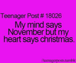 christmas, november, and teenager post image