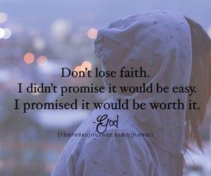 faith, god, and promise image