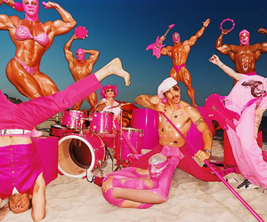 red hot chili peppers and david lachapelle image
