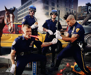 david lachapelle, rhcp, and red hot chili peppers image