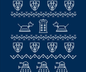 christmas, Dalek, and david tennant image