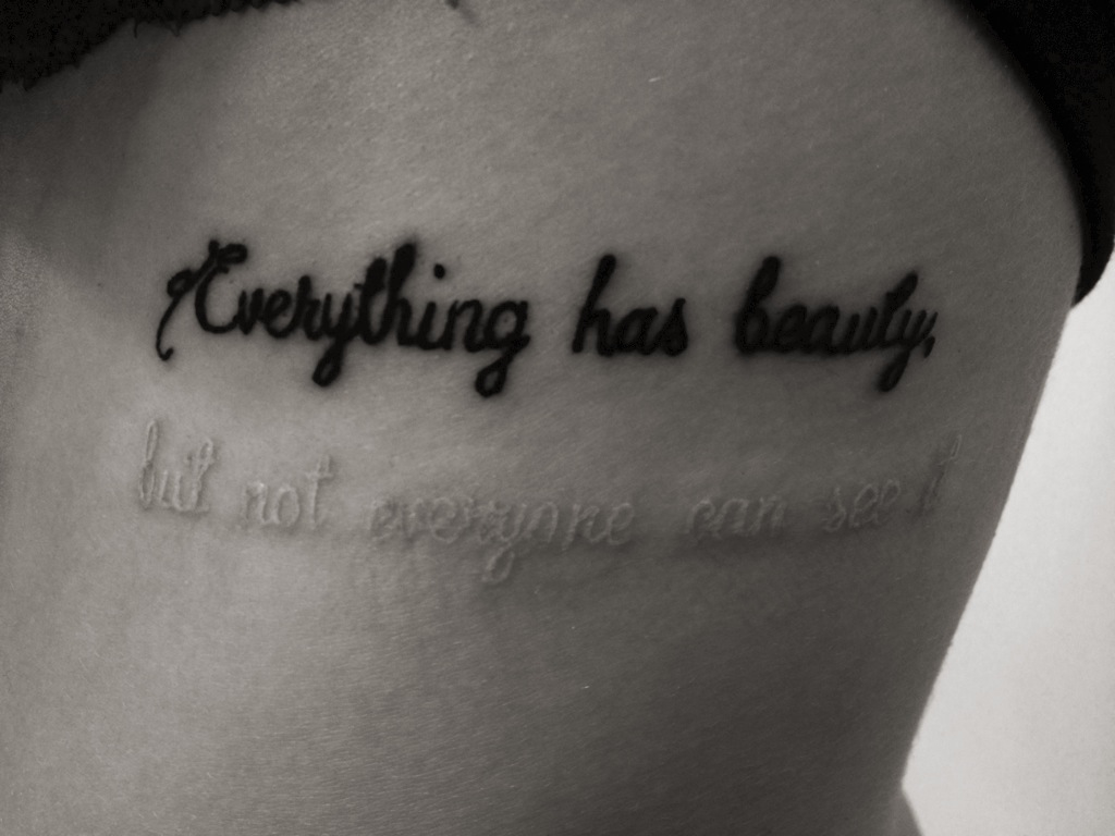 38 images about tattoos ideas on we heart it see more about tattoo quote and black and white