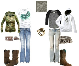boots, camo, and clothes image