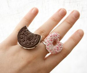 rings, oreo, and ring image
