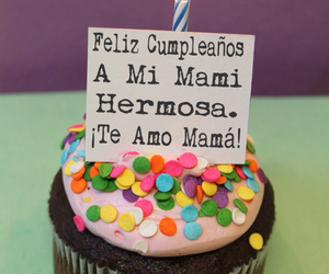 mama, te quiero, and cumpleaños image
