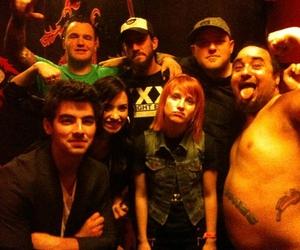 demi lovato, Joe Jonas, and hayley williams image