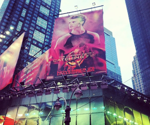 new york, the hunger games, and hunger games image
