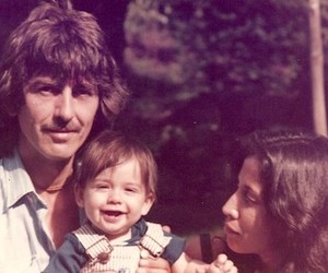 george harrison, Dhani Harrison, and olivia harrison image