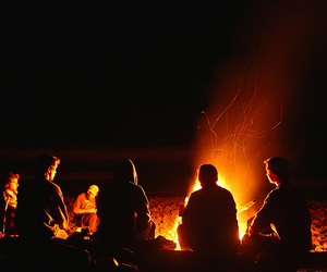 fire and friends image