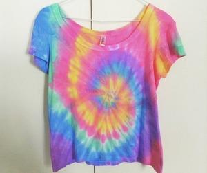 hippie, tie dye, and psicodelico image