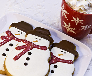 christmas, snowman, and Cookies image