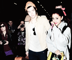 ariana grande, Harry Styles, and one direction image